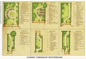 Tuin voorbeelden Vreewijk